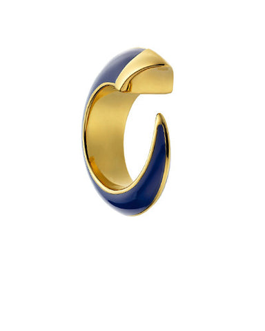Enamel Horn Ring