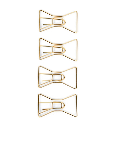 Bow Tie Paperclip Set