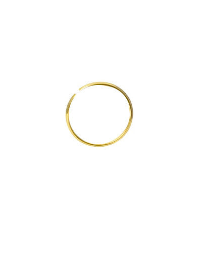 Gold Plated Cartilage Hoop