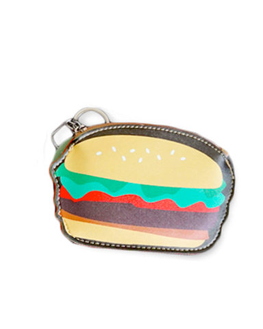 Cheeseburger Key Ring