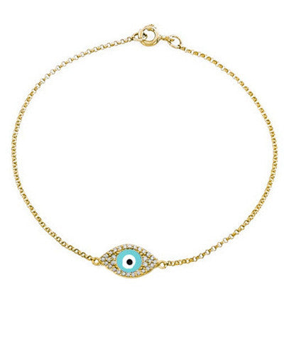 Evil Eye Statement Bracelet