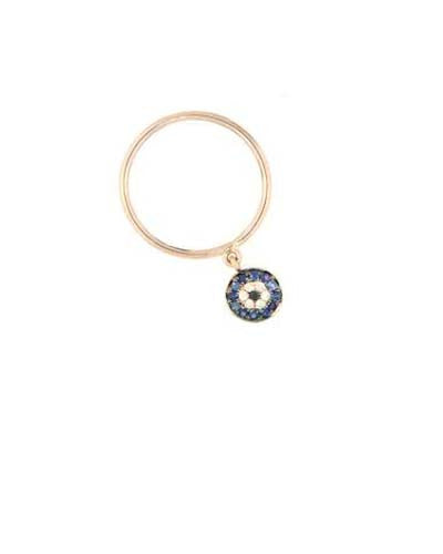 Evil Eye Dangle Ring