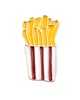 French Fries Brooch