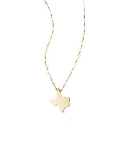 Great State Of Texas Necklace