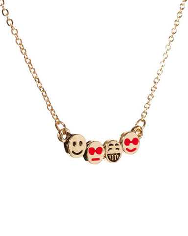 Happy Faces Necklace