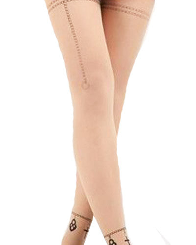 Heart Chain Tights