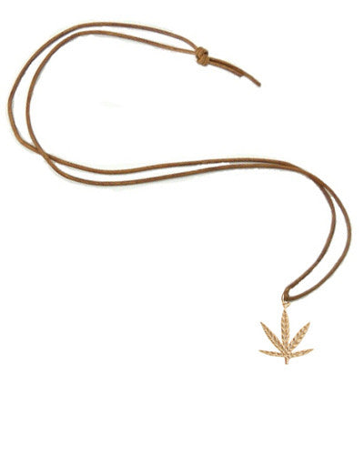 Marijuana Leaf Necklace