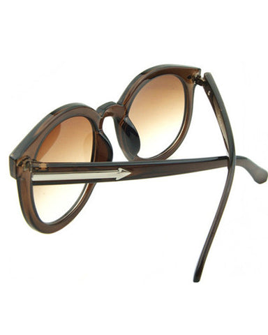 Tonal Arrow Side Sunglasses
