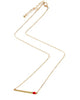Sideways Matchstick Necklace