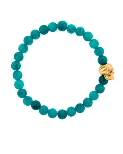 Skull Head Stretch Bracelet