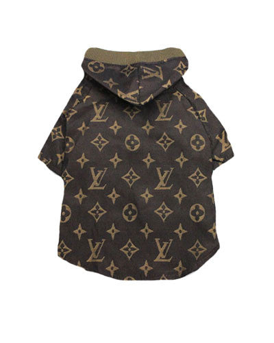 Hooded Monogram Dog Tee