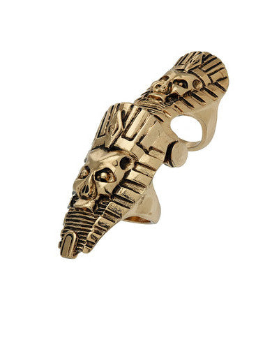Pharaoh Knuckle Ring