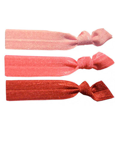 Blush Hair Tie Set