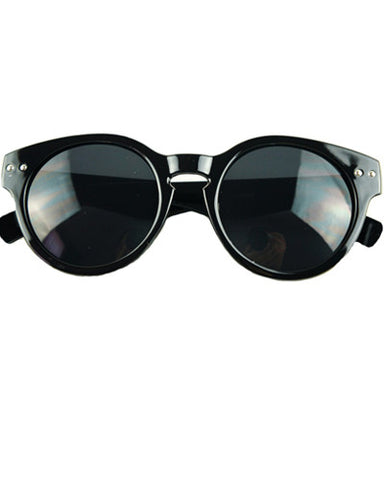 Round Rivet Sunglasses