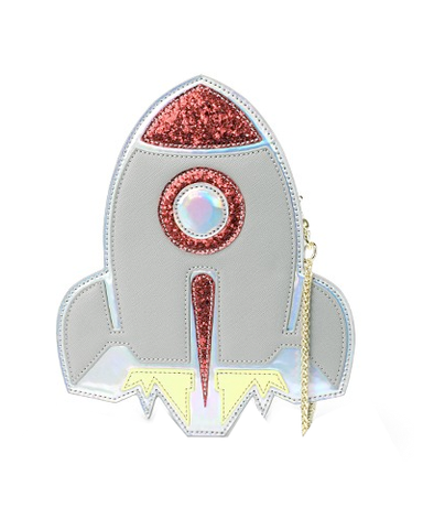 Rocket Clutch Purse