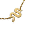 Gold Plated Slither Necklace
