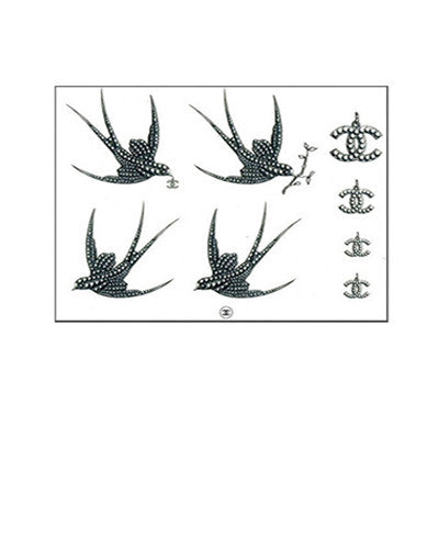Sparrow CC Temporary Tattoos