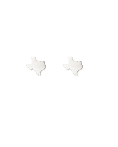 Tiny Texas Map Studs