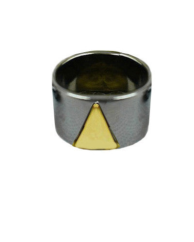 Triangle Cut Out Ring