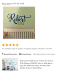 Relax Renew Refresh Vinyl Wall Words Sticker, Spa Bathroom Style Home Decor, Housewarming Gift Newly Divorced, Motivational Gift for Her - lasting-expressions-vinyl
