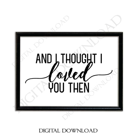 Love Quote Printable, Love Saying to Print, DXF Cricut Cut File, Digital SVG Quote Download, Vinyl Craft Designs, Silhouette Sign Stencil - lasting-expressions-vinyl
