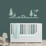 Nursery Tree Wall Decor, Woodland Nursery Decorations - lasting-expressions-vinyl