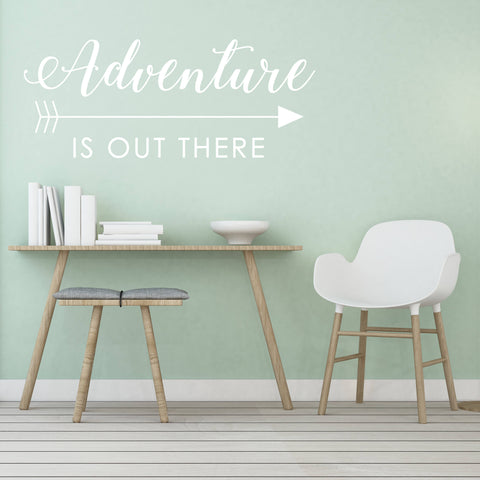 Adventure Vinyl Wall Quote - lasting-expressions-vinyl