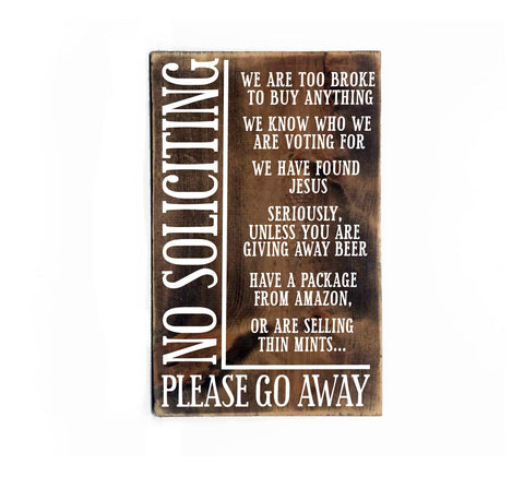Funny Welcome Sign, Front Door Wood Sign - lasting-expressions-vinyl