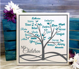 Family Tree Custom Sign Personalized with Names - lasting-expressions-vinyl