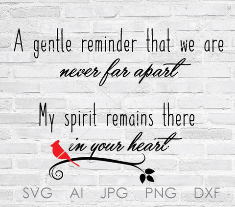 In Loving Memory Quotes Svg
