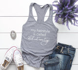 Funny Women's Tank Top Gift for Her, Mom Birthday Gift, Hairstylist Thank You, Women's Graphic Tee, Custom Tank Top Quote, Didn't Even Try - lasting-expressions-vinyl