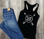 Faith over Fear Shirt, Gift for her, Fundraising Shirts, Inspirational Quote shirt, Tank top, Womens Outfit Tank Top, Church Camp Shirt - lasting-expressions-vinyl