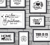 SVG Quote Bundle Farmhouse Designs, DXF Cricut Vinyl Cutting File, Printable Farmhouse Home Decor, Rustic Chic Artwork, Vector Clipart Quote - lasting-expressions-vinyl