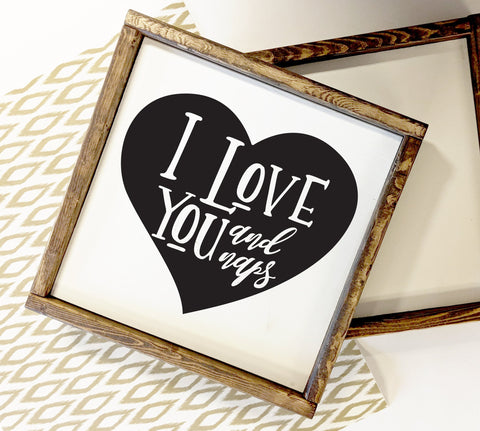 Love Naps Wood Sign Quote, Bedroom Wall Decor Signs, Rustic Chic Home Decor, White Framed Wood Sign, Girlfriend Birthday, Gift for Daughter - lasting-expressions-vinyl
