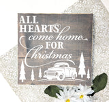 Christmas Wood Sign Home Decor, Rustic Wood Holiday Home Decor - lasting-expressions-vinyl