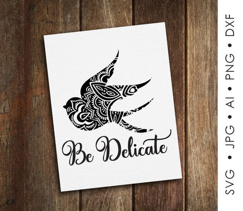 Animal Clipart SVG Quote, Printable Nursey Home Decor, Motivational Card Printable, Bird Boho Animal Print, Inspirational Saying to Print - lasting-expressions-vinyl