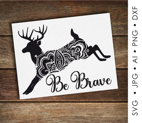 Animal Clipart SVG Quote, Printable Nursey Home Decor, Motivational Card Printable, PNG Deer Boho Animal Print, Inspiration Saying to Print - lasting-expressions-vinyl