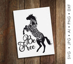 Animal Clipart SVG Quote, Printable Nursey Home Decor, Motivational Card Printable, PNG Horse Boho Animal Print, Inspiration Saying to Print - lasting-expressions-vinyl
