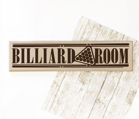 Man Cave Wall Decor Pool Sign, Pool Table Room Wood Sign, Father's Day Gift for Dad, Billiard Room Wall Sign Decor, Home Bar Custom Sign - lasting-expressions-vinyl