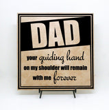 Dad Saying on Sign - lasting-expressions-vinyl