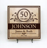 Established Sign Custom Anniversary Gift - lasting-expressions-vinyl