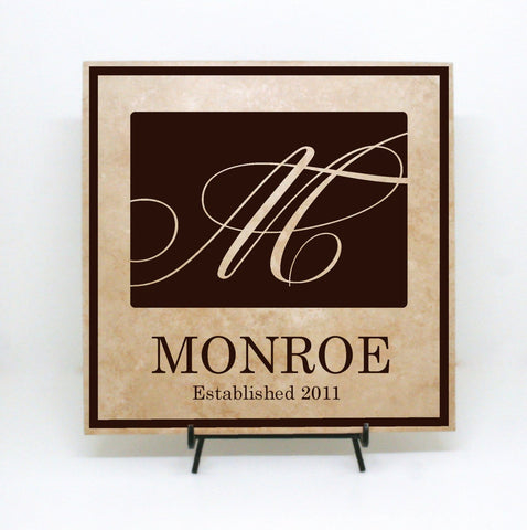 Last Name Sign for Wedding - lasting-expressions-vinyl