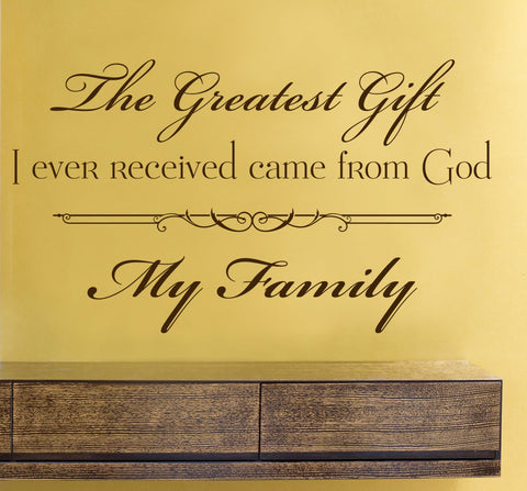 Family Wall Words Sticker - lasting-expressions-vinyl