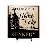 Last Name Sign Cabin Decor - lasting-expressions-vinyl