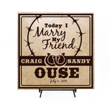 Country Wedding Centerpiece Sign - lasting-expressions-vinyl