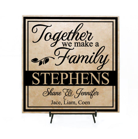 Last Name Sign with Quote - lasting-expressions-vinyl