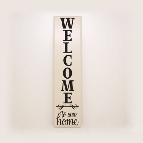 Welcome Home Wood Decor Sign - lasting-expressions-vinyl