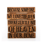 Heaven Memorial Wood Pallet Sign - lasting-expressions-vinyl