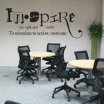 Inspire Wall Words Decal - lasting-expressions-vinyl