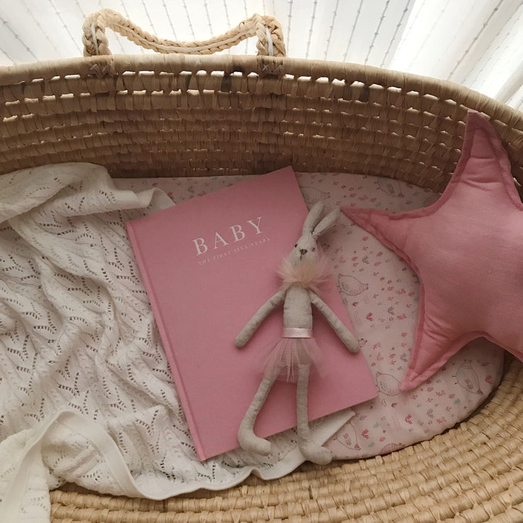 Baby Journal (Pink) - Birth To Five Years